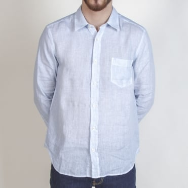 Classic Linen L/S Shirt in Mare