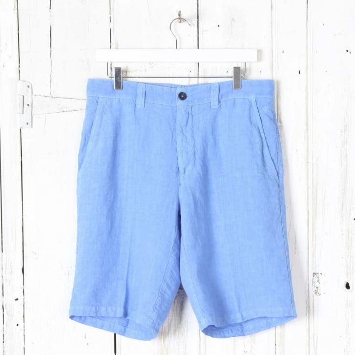 120% Navy Shorts