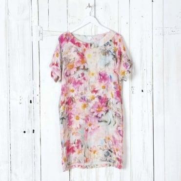 Watercolour Print Dress