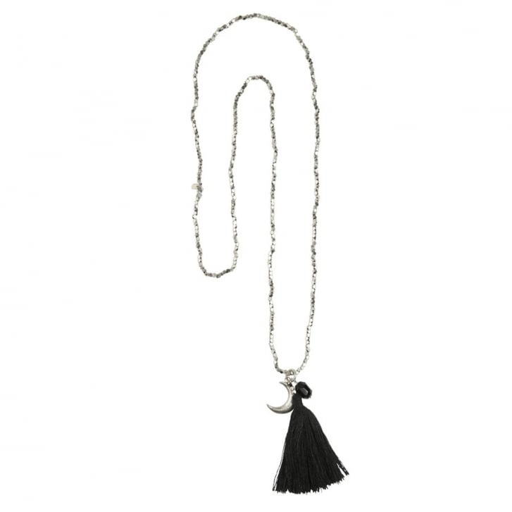 A BEAUTIFUL STORY Bloom Black Onyx Necklace