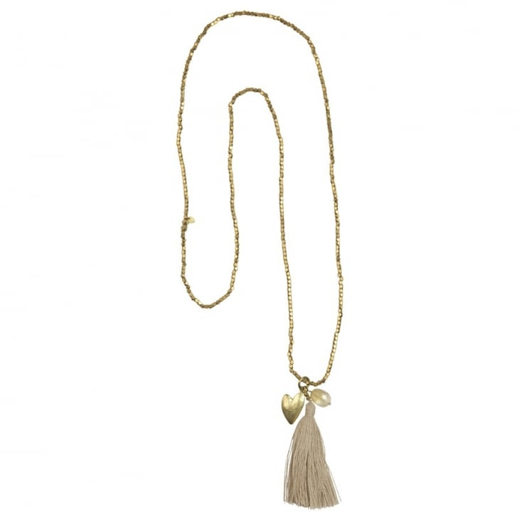 A BEAUTIFUL STORY Bloom Citrine Heart Necklace