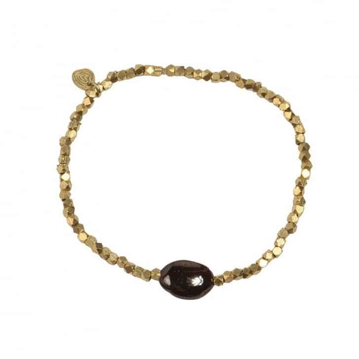 A BEAUTIFUL STORY Celebrate Garnet Bracelet