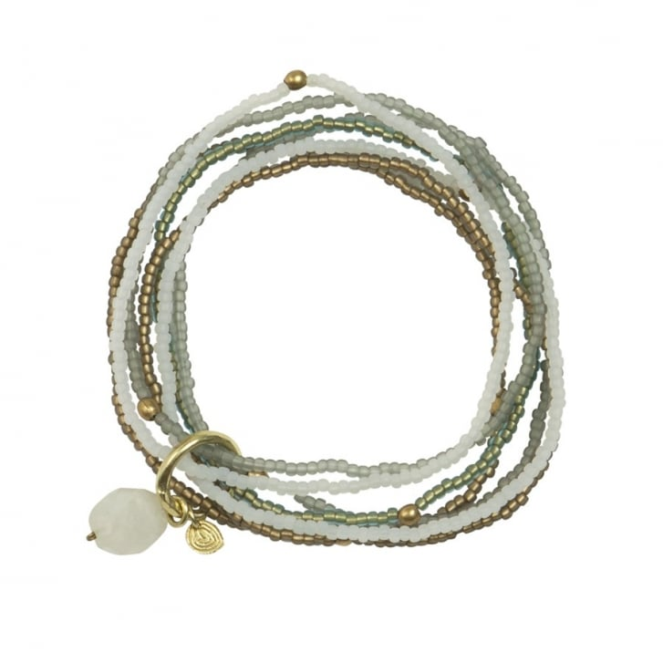 A BEAUTIFUL STORY Nirmala Rainbow Moonstone Bracelet