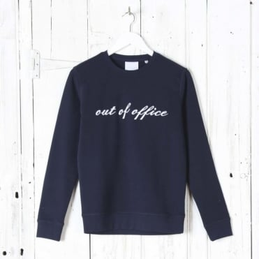 Out of Office Sweatshirt in Navy