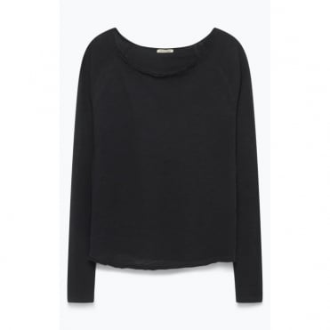 Sonoma Long Sleeve Top in Black