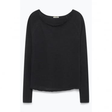 Sonoma Long Sleeve Top in Black