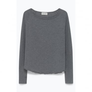 Sonoma Long Sleeve Top in Heather Grey