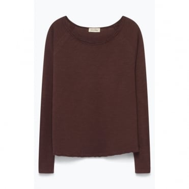 Sonoma Long Sleeve Top in Morello