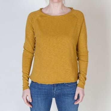 Sonoma Long Sleeve Top in Old Gold