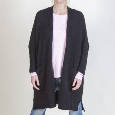Vacaville Cardigan in Black