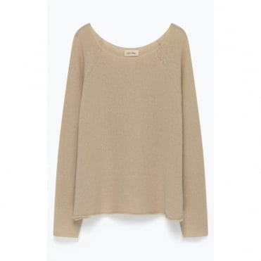 Vacaville Round Neck Wool Mix Knit Jumper