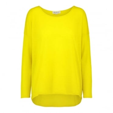 Anna Cashmere Wide Scoop Neck Jumper