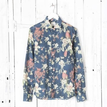 Arrison Long Sleeve Parrot Shirt