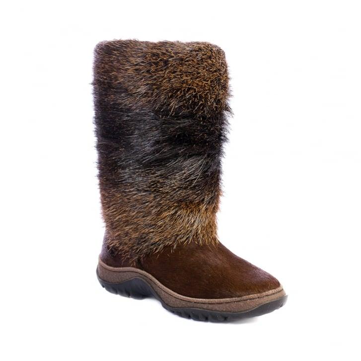 SIBERIAN CHIC Aspen Tall Fur Boot