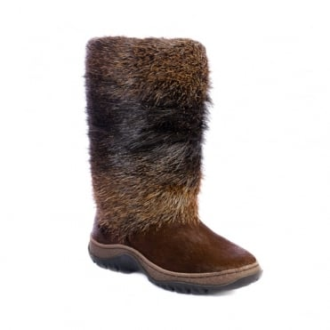 Aspen Tall Fur Boot