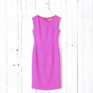 Asymmetric Neck Dress