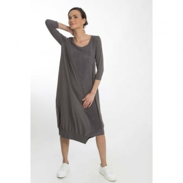 Asymmetric Seam Dress