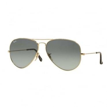 Aviator Flash Metal Sunglasses