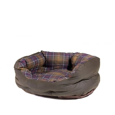 24 Wax Cotton Classic Dog Bed