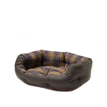 30 Wax Cotton Classic Dog Bed