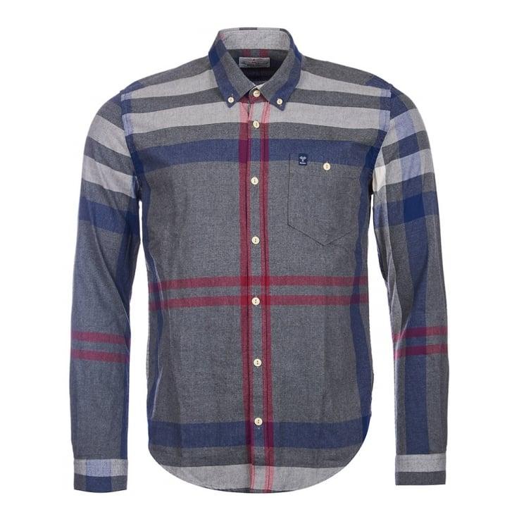 BARBOUR Alfie Grey Marl Shirt