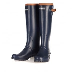 Blyth Welly Boots in Navy