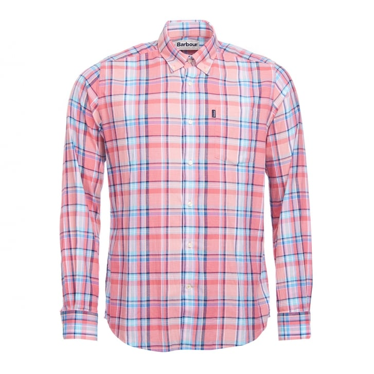 BARBOUR Bram Shirt in Pink