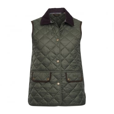 Brimham Gilet in Olive