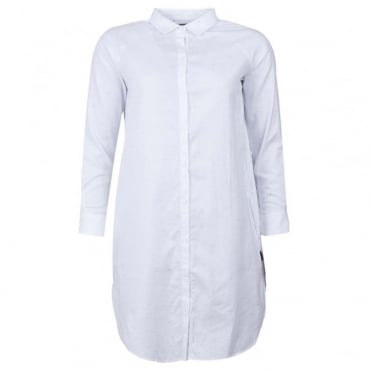 Flecked Shirt Dress