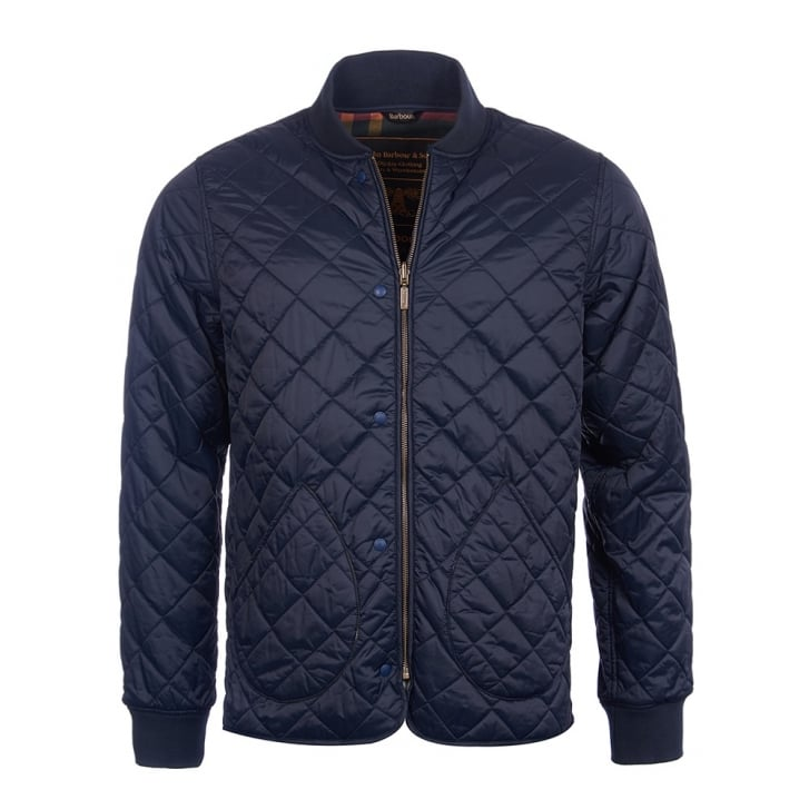BARBOUR Heritage Windrow Navy Jacket