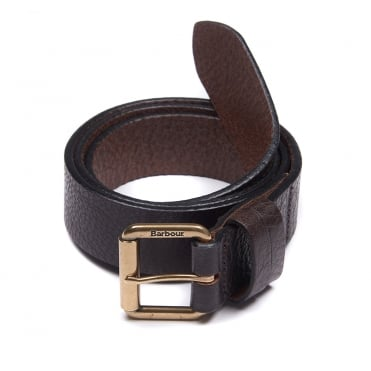 Irton Belt in Dark Brown