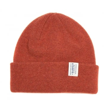 Lambswool Hat in Clay/Red