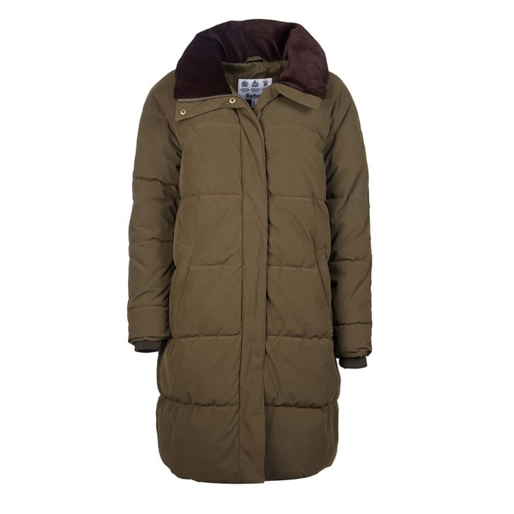 BARBOUR Leck Dark Olive Jacket