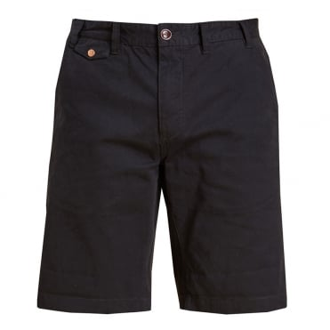 Neuston Twill Short in Navy