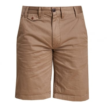Neuston Twill Short in Stone