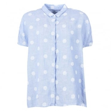 Short Sleeved Polka Dot Shirt