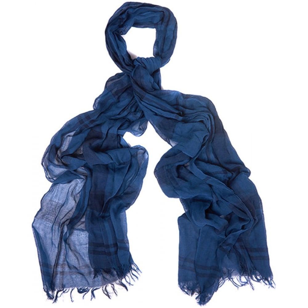 barbour tartan linen scarf collen clare