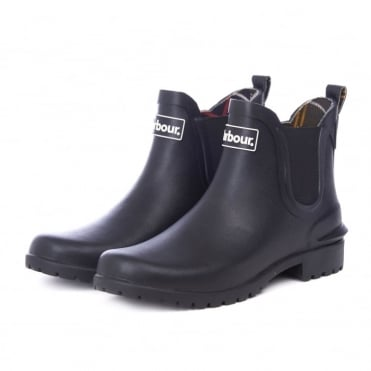 Wilton Welly Boot in Black