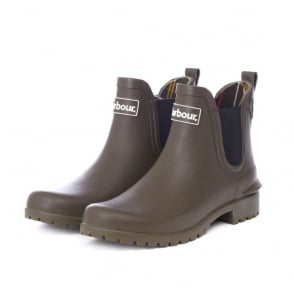 Wilton Welly Boot in Olive
