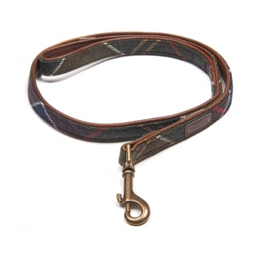 Wool Touch Dog Lead in Classic Tartan
