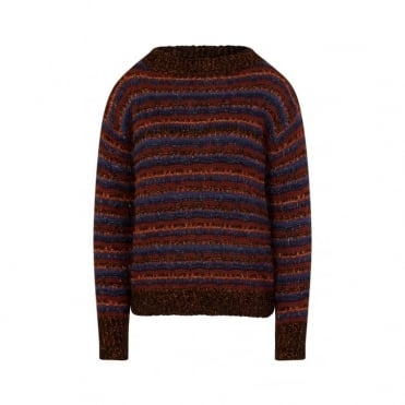 Stripe Lurex Knit