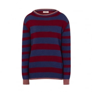 Wide Stripe Knit