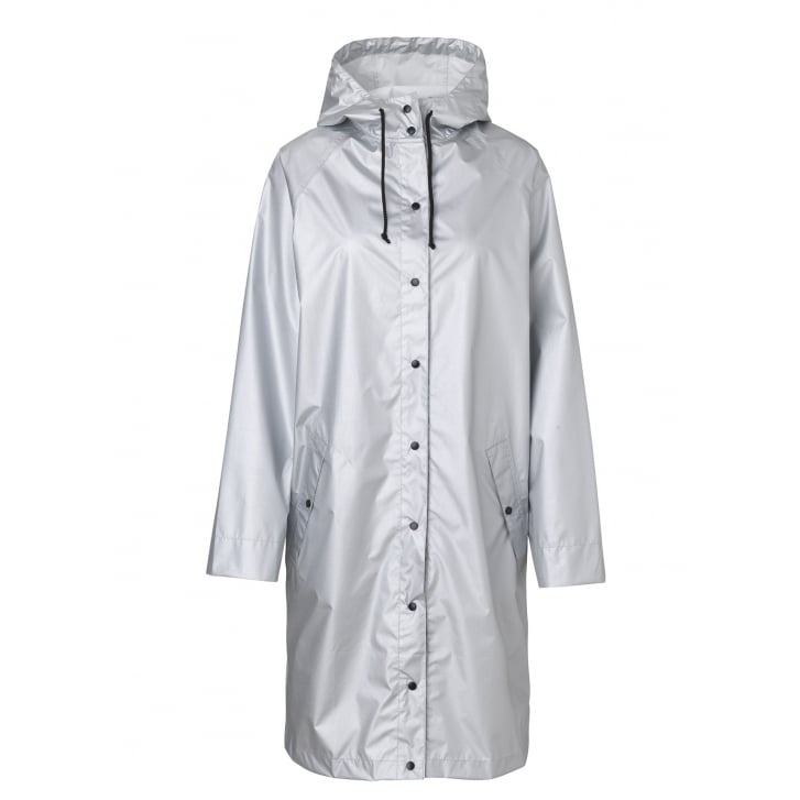 BECKSONDERGAARD Magpie Silver Rain Mac