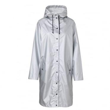 Magpie Silver Rain Mac