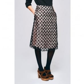 Bellerose Hopla Sequin Skirt