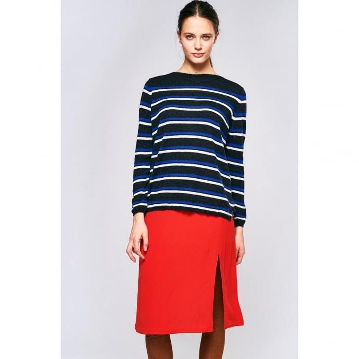 BELLEROSE Nakara Wool Mix Stripe Knit