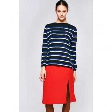 Nakara Wool Mix Stripe Knit