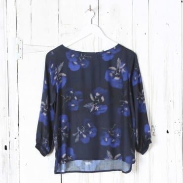 Solong Flower Print Top