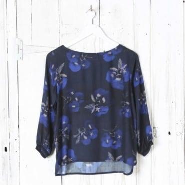 Solong Flower Print Top