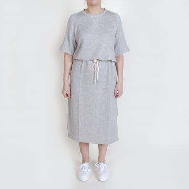 Sweat Easy Dress in Grey